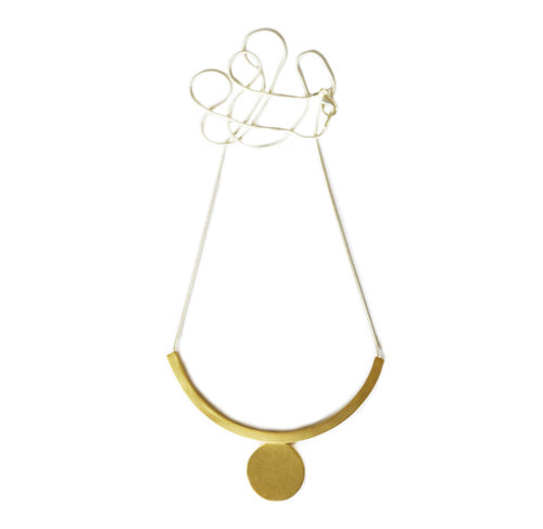 fine cook lcd grande circle linden products necklace jewellery