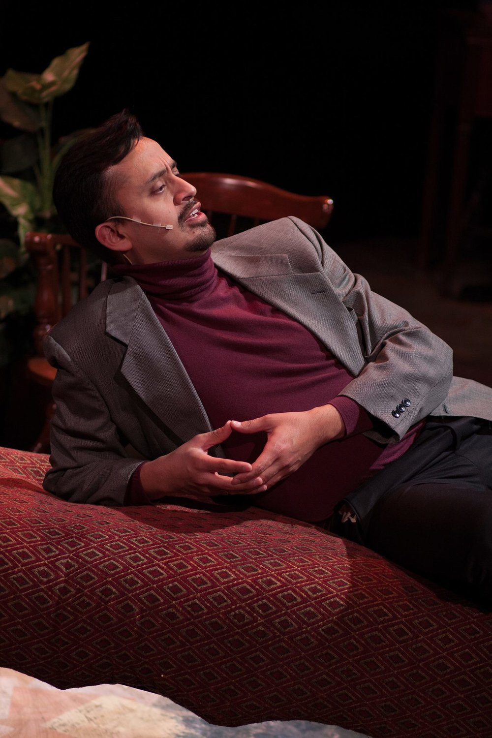 "Playing Lorenzo in ""Melancholy Play: A Chamber Musical""."