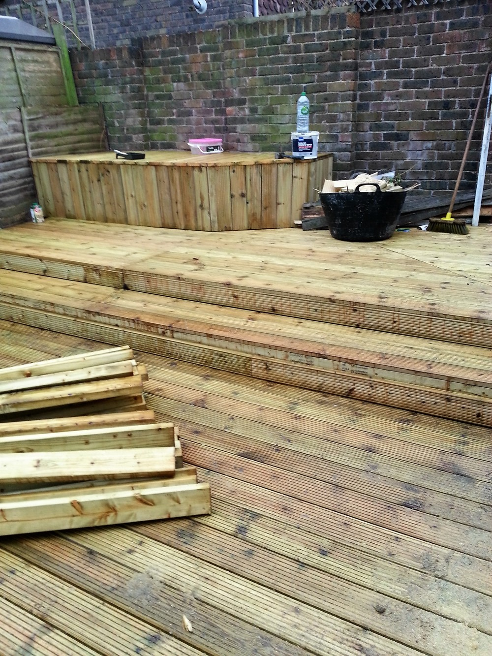 Decking, New Malden