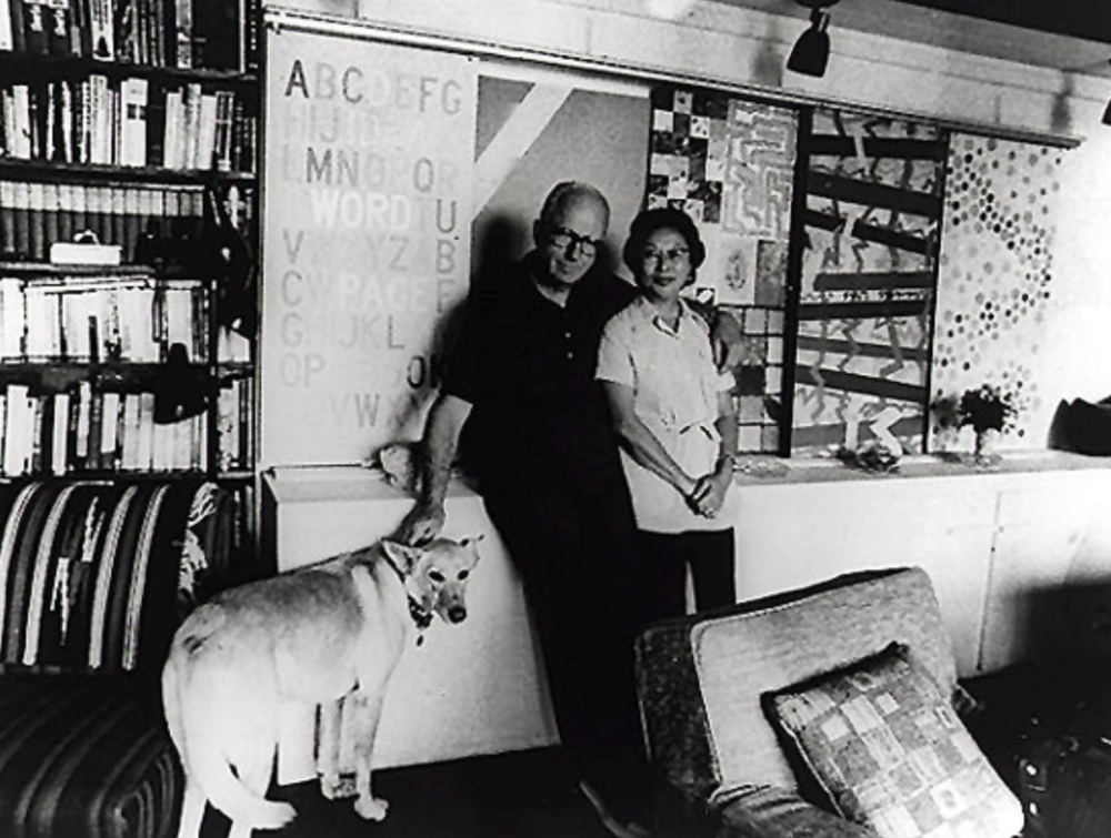 James Michener and his wife Mari. Photo from Michener Art Museum.