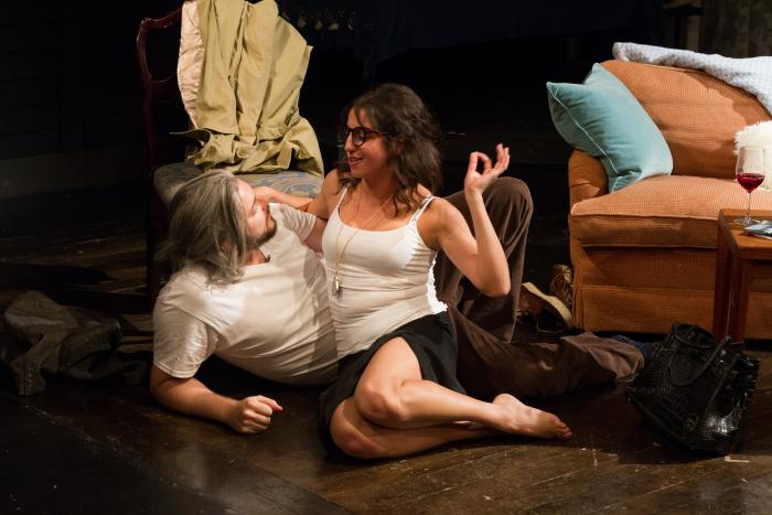 Dido of Idaho by Abby Rosebrock. L to R: Curran Connor, Layla Khoshnoudi. Photo Credit: Jody Christopherson