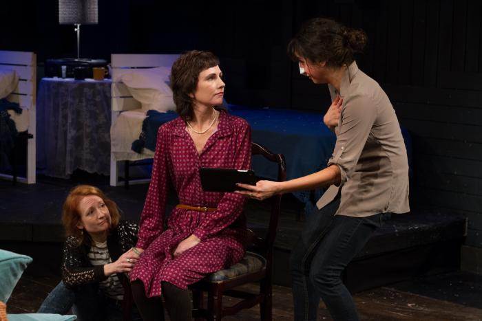 Dido of Idaho by Abby Rosebrock. L to R: Dawn McGee, Julie Fitzpatrick, Layla Khoshnoudi. Photo Credit: Jody Christopherson