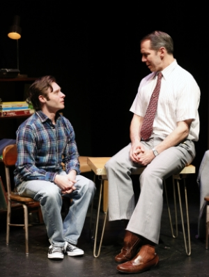 Bobby Steggert and Paul Niebanck in BOY (Photo: Carol Rosegg)