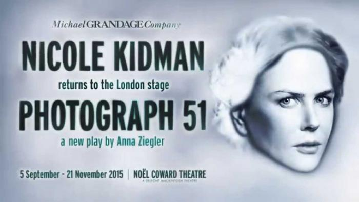 Poster for London run of Photograph 51