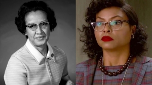 "Katherine Johnson, the ""computer"" portrayed by Taraji P. Henson in the movie Hidden Figures."