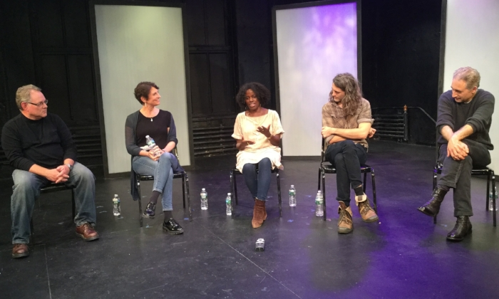 Mandë Holford (center) recalling when she decided to become a scientist.