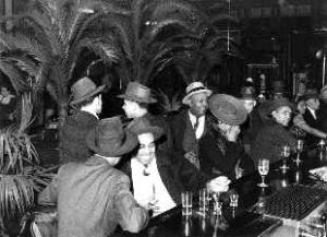 Harlem speakeasy in the 1920s