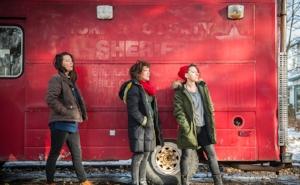 From left:Katie Bender,Rachel Mars, Gabrielle Reisman