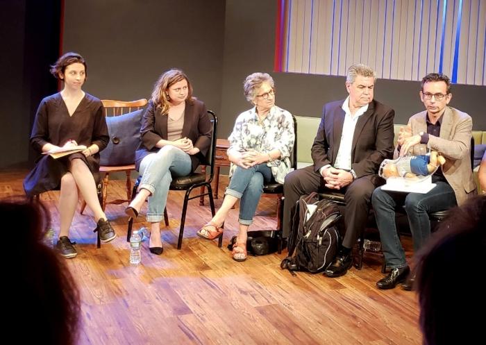 From left: Sonia Shechet Epstein, Chiara Atik, Claudia Weill, Jorge Odón, Mario Merialdi