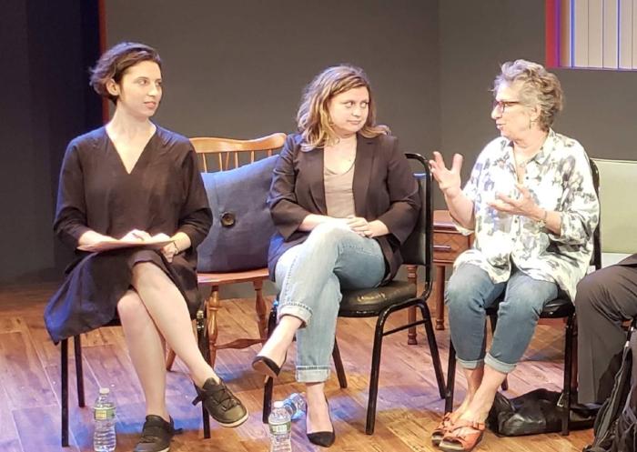 From left:Sonia Shechet Epstein, Chiara Atik, Claudia Weill