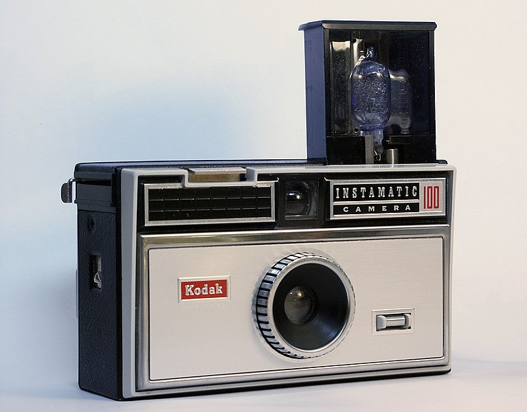 The Kodak Instamatic 100 from 1963