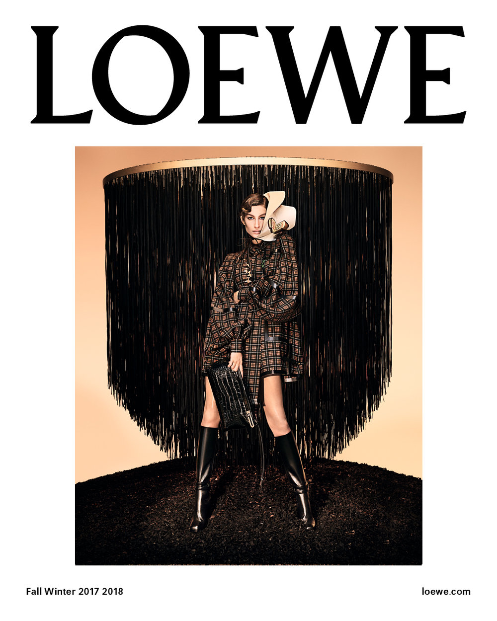 Loewe Campaign Photographed by Steven Meisel, Styled by Benjamin Bruno