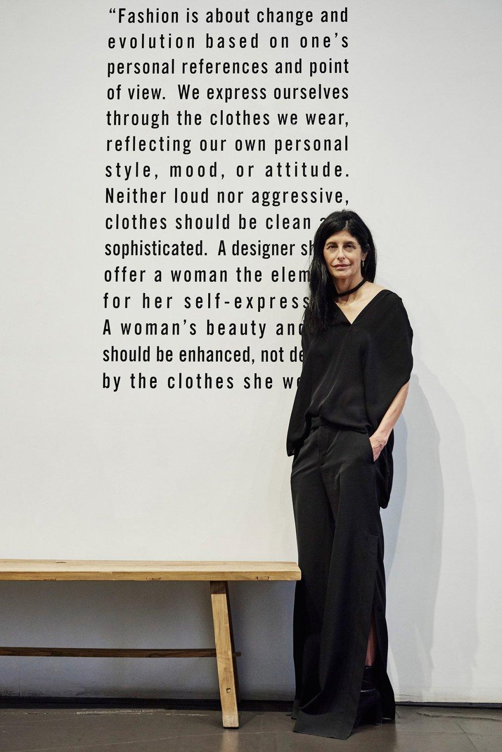 Nili Lotan photographed by Felix Kim,courtesy of W Magazine