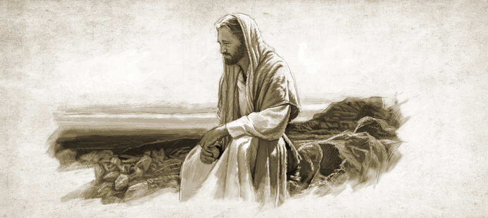 Christ contemplates the pain of his ministry.jpg