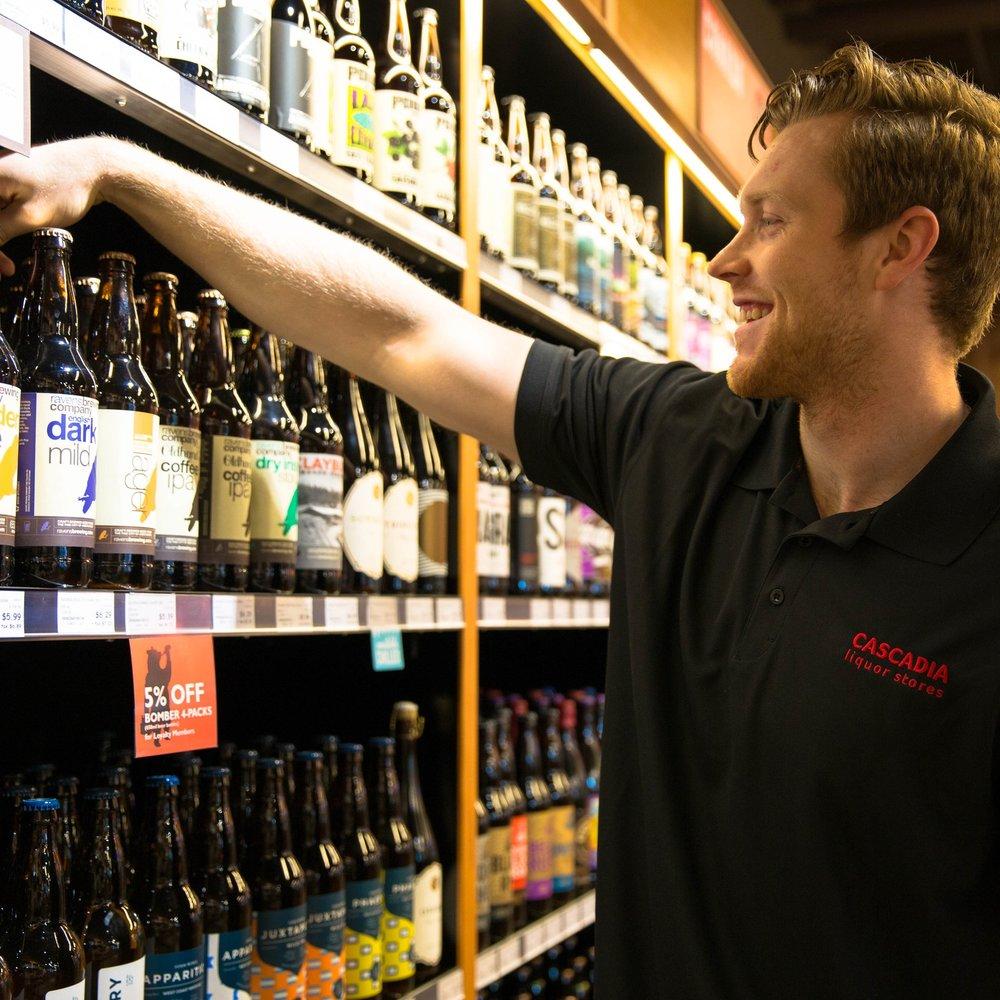 Cascadia Liquor - Company10% off purchasesTTG5% off purchases