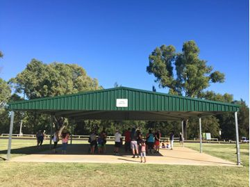Stage 1  Titan Shelter, Ollie Robbins Oval
