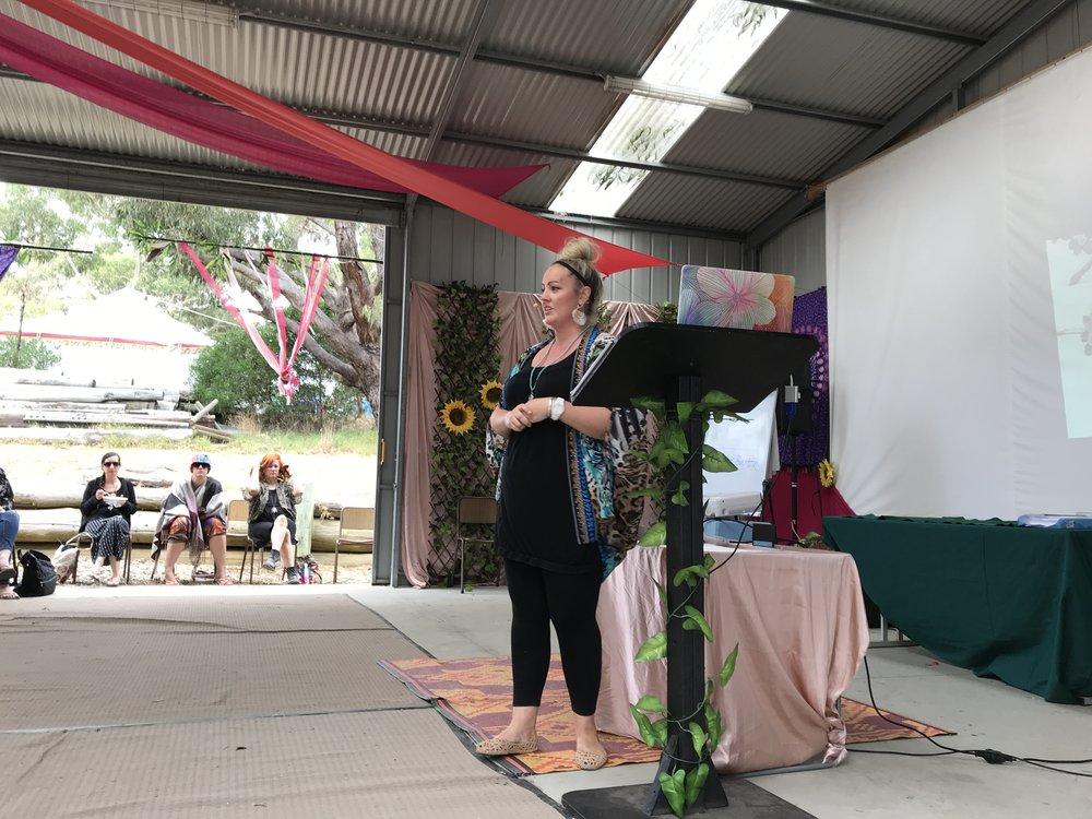 Claire Barton - Seven Sisters Festival Speaker