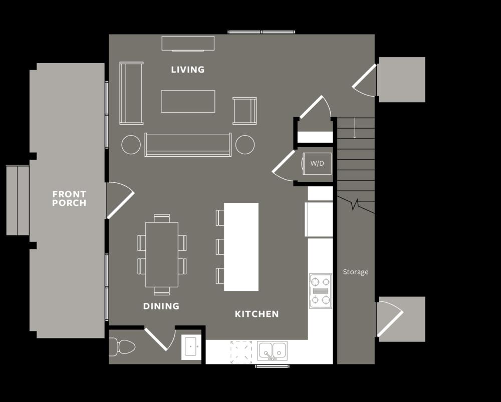 Slate - Ground Floor (+ Detached Car-Port)