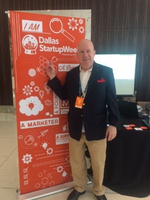 Charles Read, President/CEO of GetPayroll at Dallas Startup Week 2017