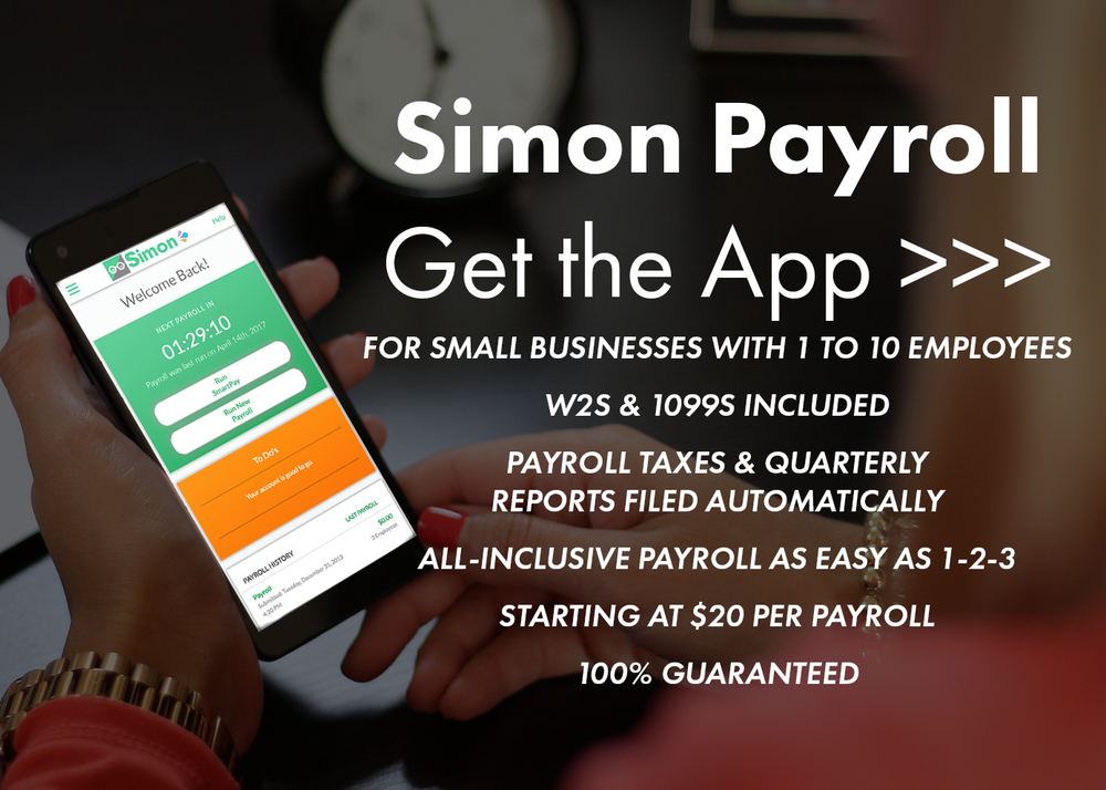Get The Simon Payroll App Today