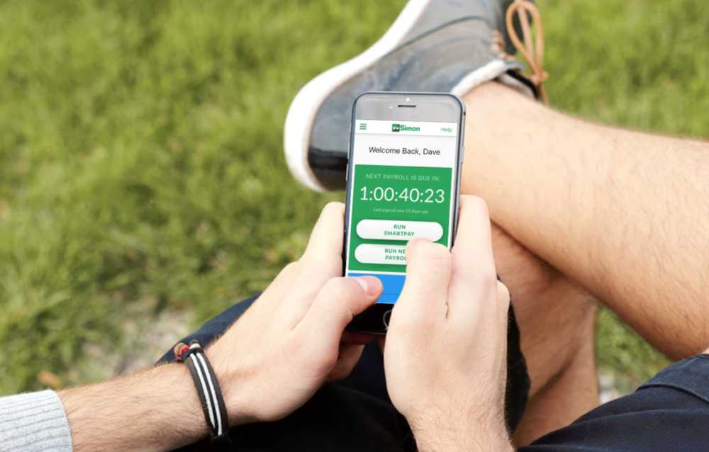 Run Simon Payroll app anywhere. anytime.