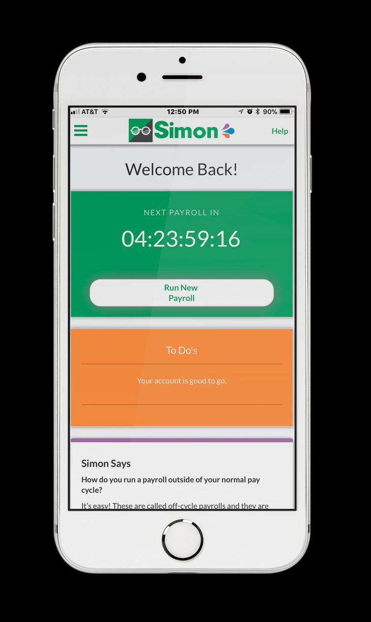 The Simon Payroll App
