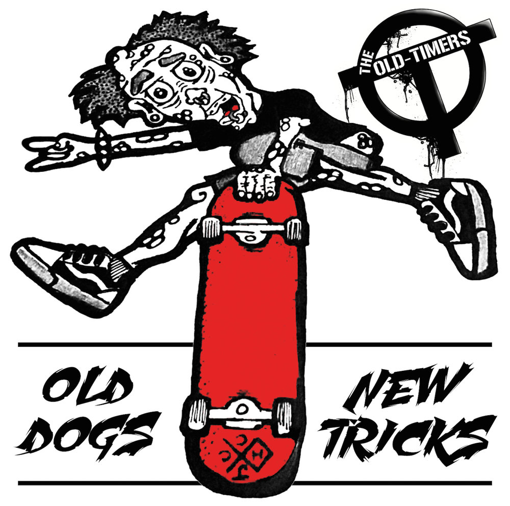 The Old-timers - Old Dogs New Tricks cover.jpg