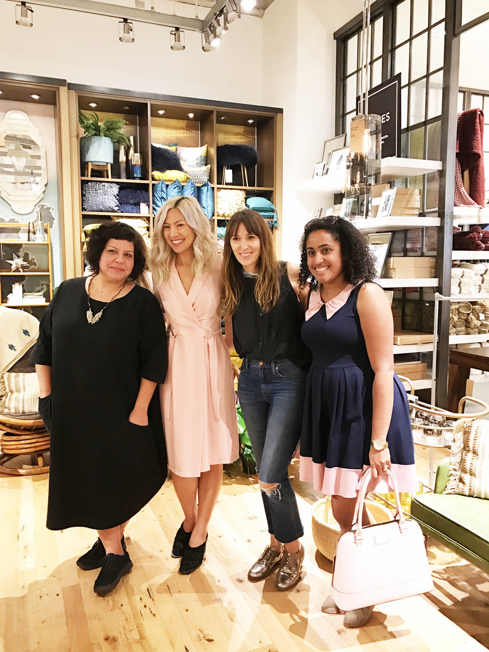 Girl bosses unite!  These lovely fellow LB shop owners made the drive to visit us, love them.  Jolie of  Wild Child Party  & Camille of  Planning Pretty.
