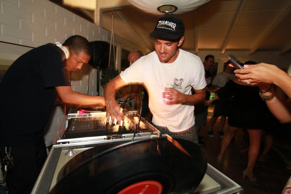 DJ Tuan Digglz, keeping us dancing since we were young bucks.