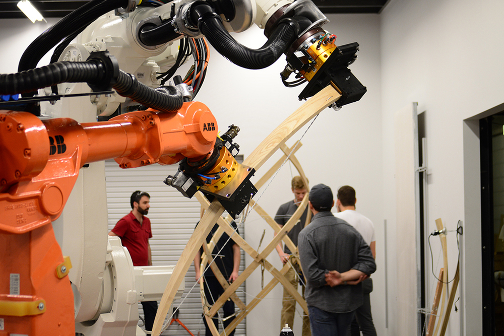 Timber: Robotic Wood Construction