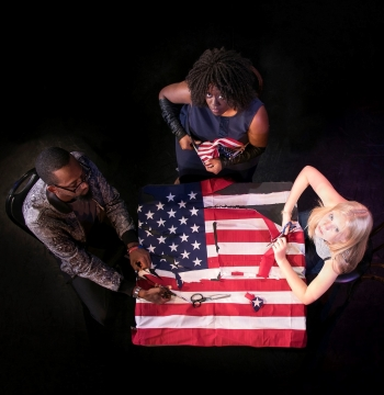 Untitled American Flag Craft Project - at The Brick November 30 – December 16, 2017 Tickets: HERE