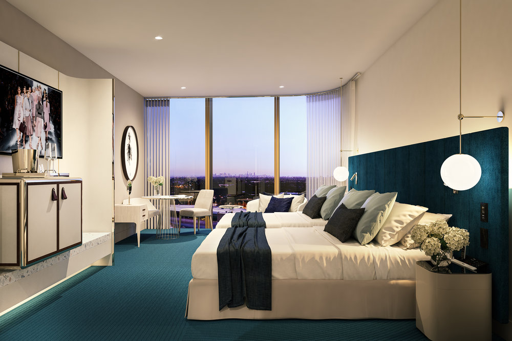CHADSTONE HOTEL : KING + TWIN ROOMS