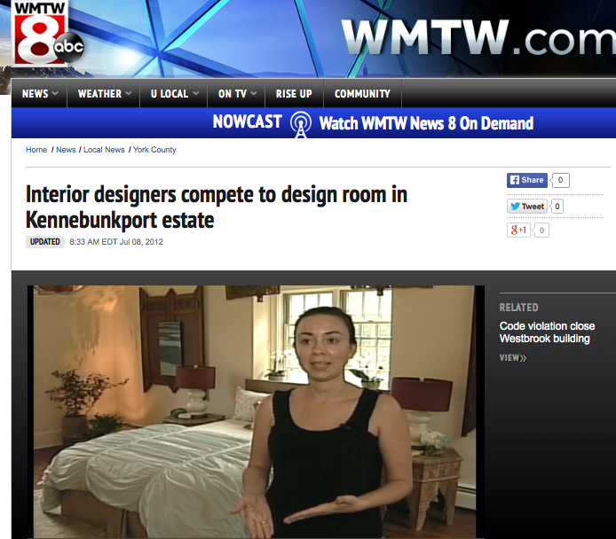 "WMTW News Story, or as I like to call it, ""News station surprises sweaty designers working in 90 degree heat"". A funny, accurate look at the designer shophouse process and the work that goes into it: without hair and makeup."