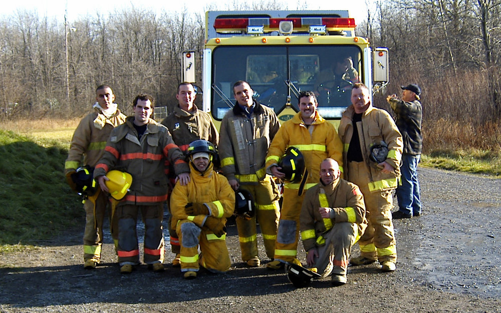 Corporal Andrew Wesley in the Durham College Fire program