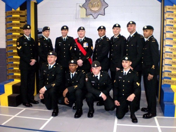 Corporal Andrew Wesley's DP1 Infantry Graduation in Meaford, Ontario