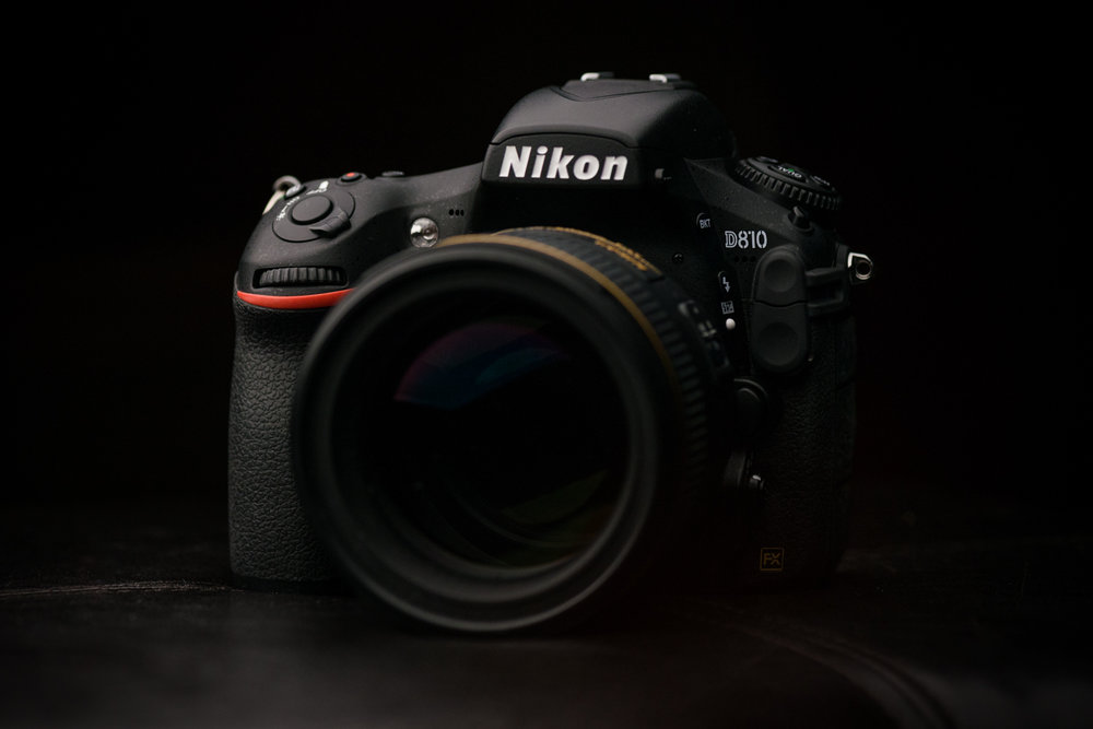 Nikon D810 with 85mm F/1.4.