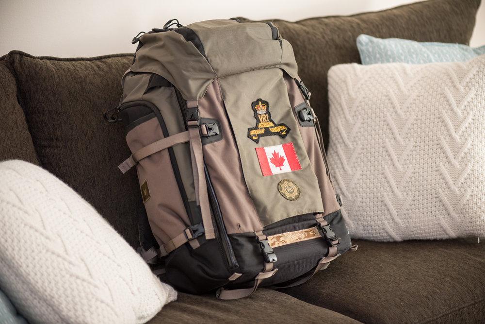 LowePro ProTrekker 400AW camera backpack.