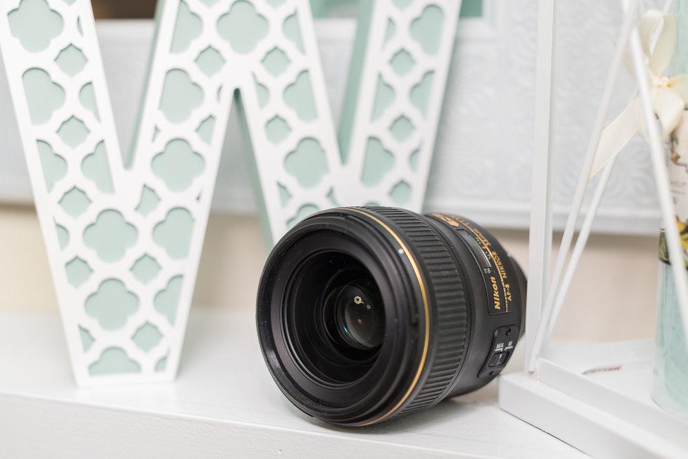 Nikon 35mm F/1.4 G camera lens.