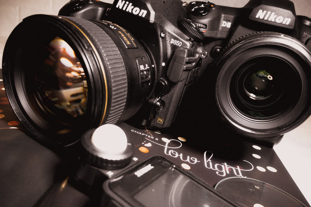 Nikon D810 with 85mm F/1.4 and 35 F/1.4