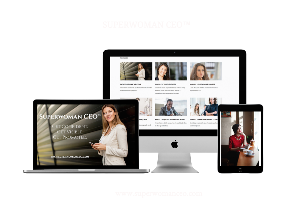 The Online Leadership Development Course for women ready to accelerate their career and reach Executive levels.   www.superwomanceo.com
