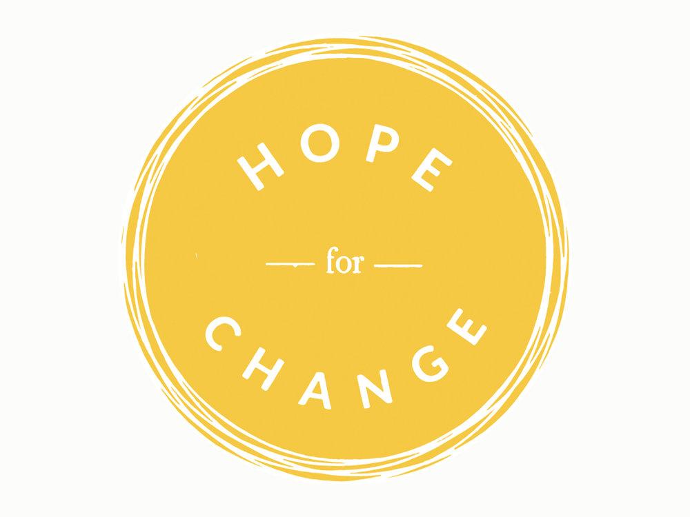 HOPE FOR CHANGE