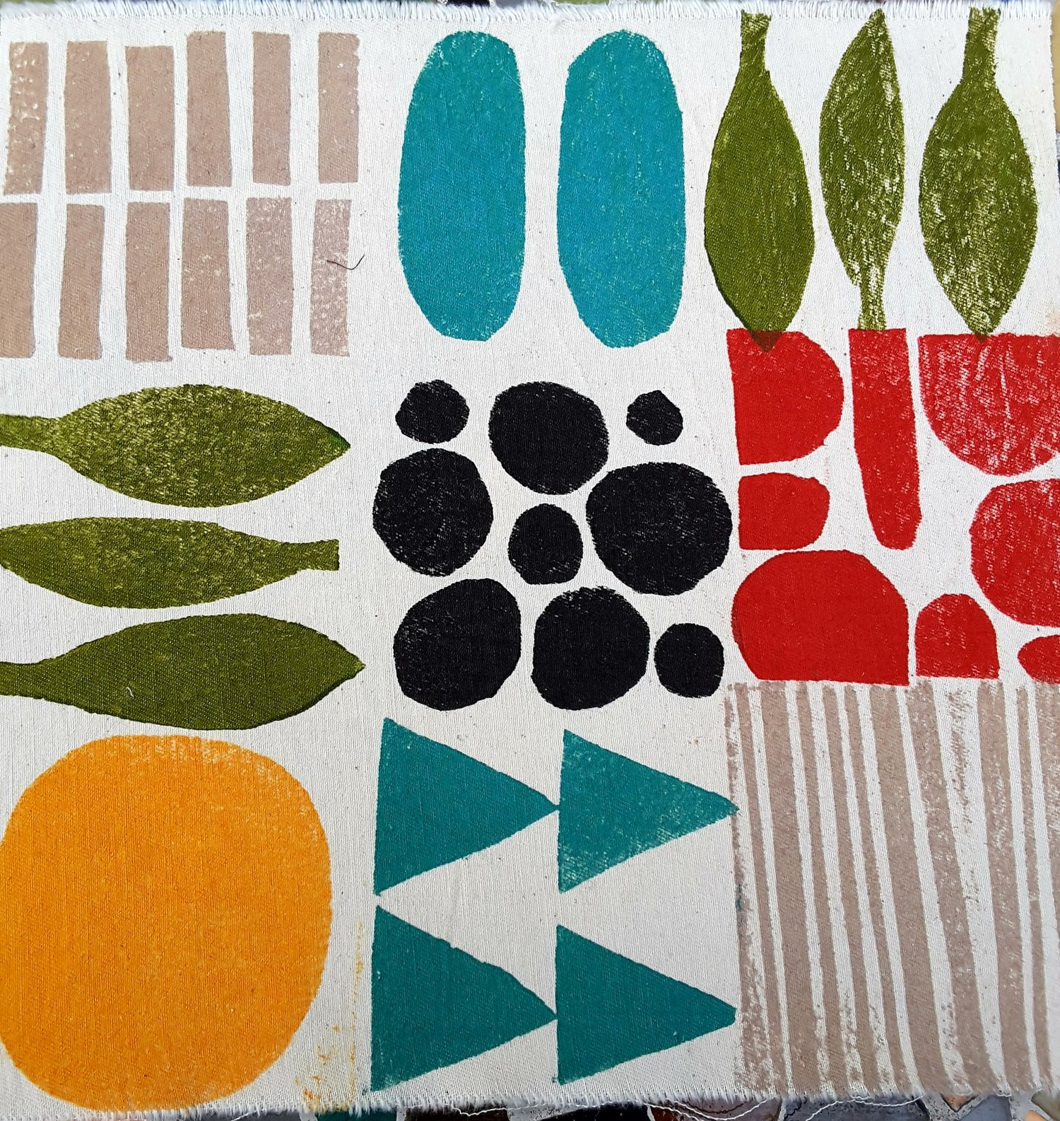 Block Printing On Fabric And Surface Design With Mo Hamilton