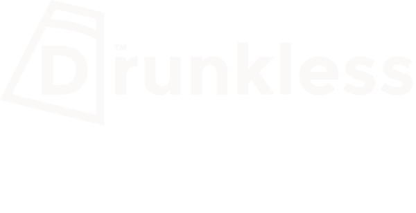 Drunkless LIFE Recovery Podcast - official logo