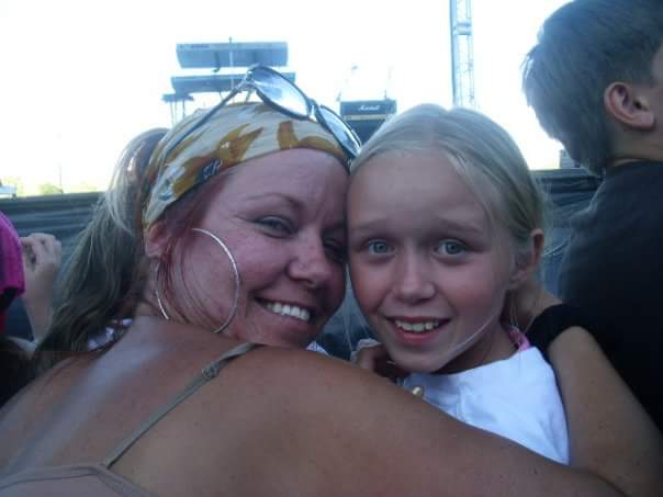 Our first concert together - State Fair 2008