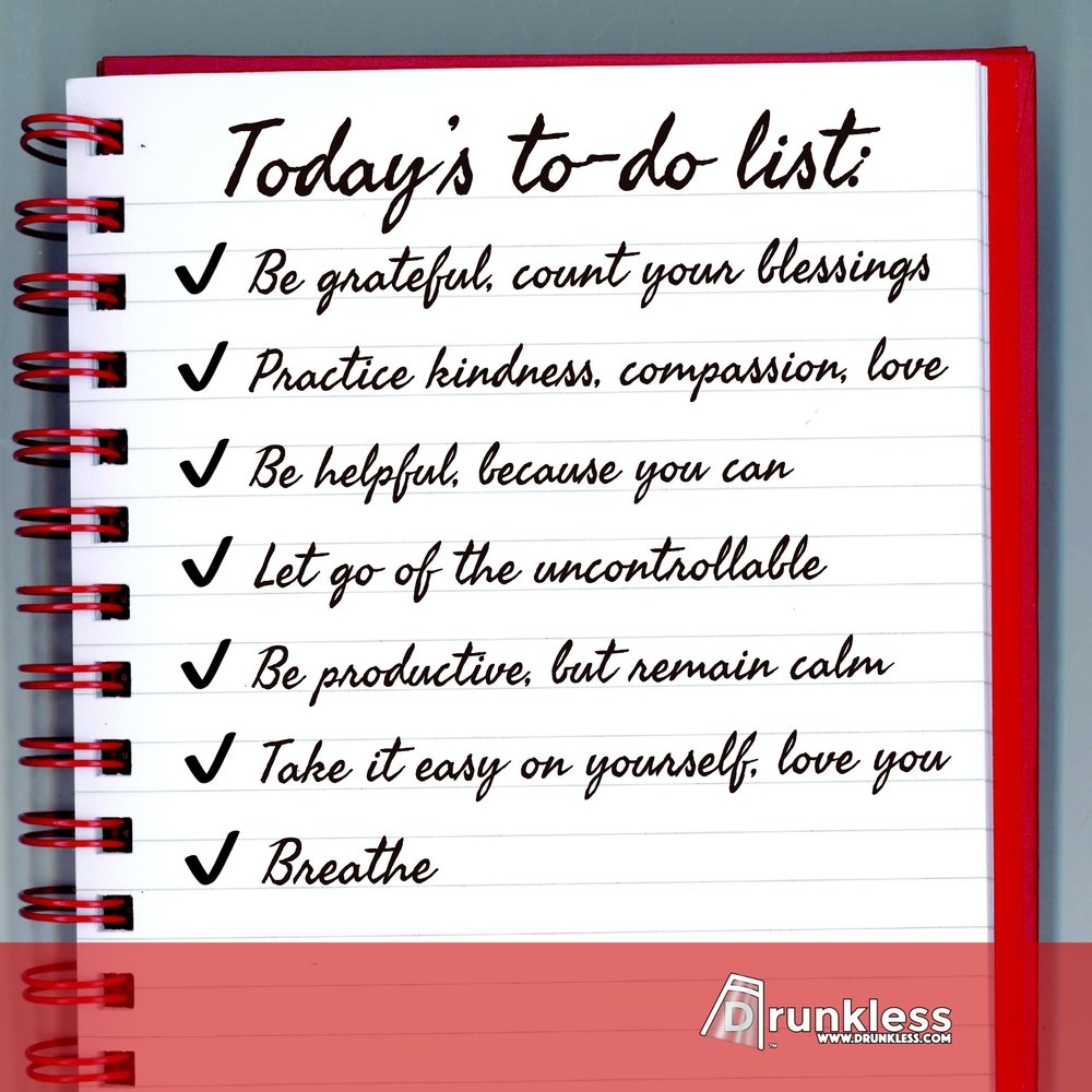 Today's To-Do List