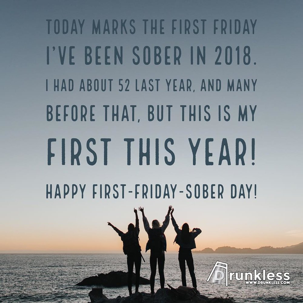 First-Friday-Sober Day - 2018