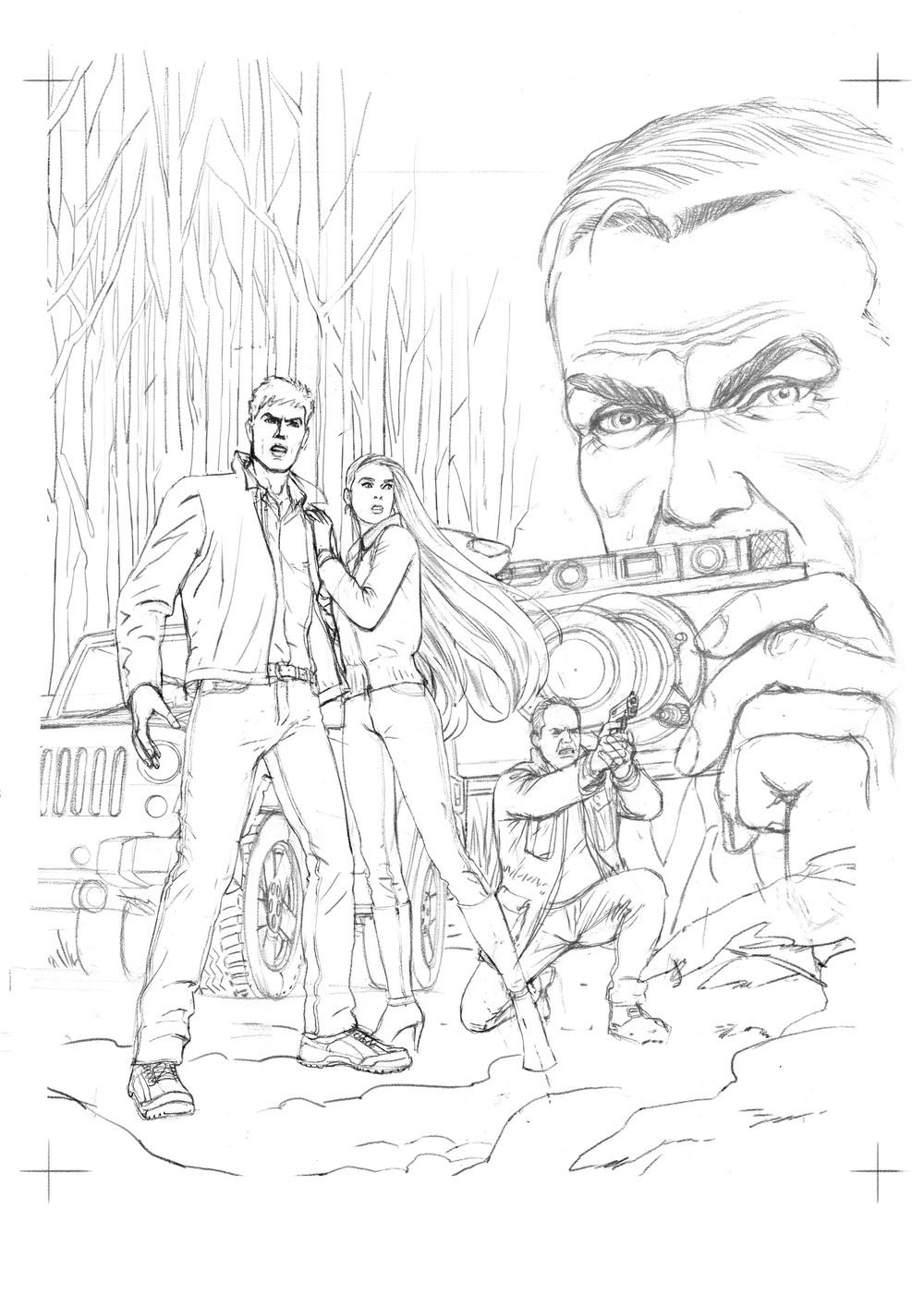 """Thomas Silane vol. 5""  Cover"