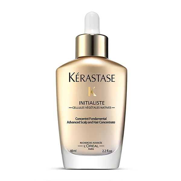 Kerastase Initialiste: Advanced scalp and hair super serum that acts on the four attributes of total hair beauty: strength, shine, softness, and substance. Transforms your hair in 7 days. With continued usage, your hair stays healthier from root to tip, allowing it to grow longer.