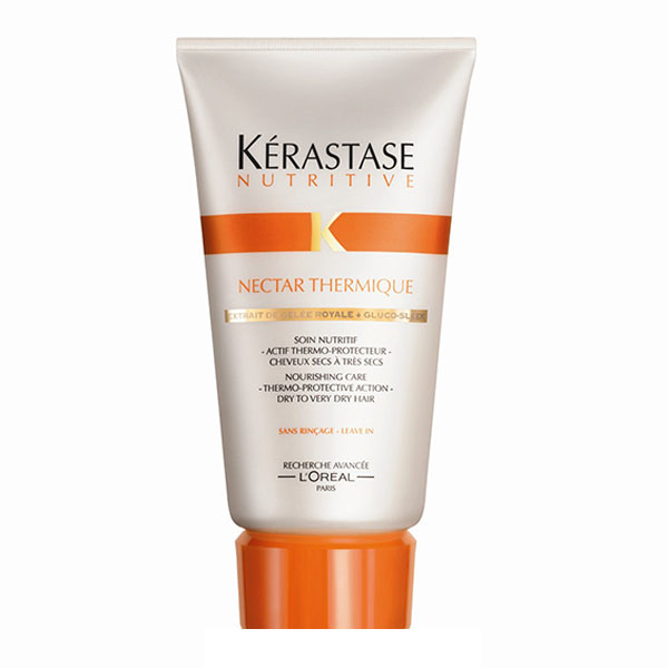 Kerastase Nectar Thermique: Nourishing leave-in treatment for very dry hair adds smoothness & shine while protecting from heat styling.