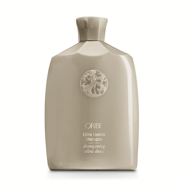 Oribe Ultra Gentle Shampoo: Supremely soothing, extra-gentle shampoo satisfies hair's thirst for incredible softness and shine.